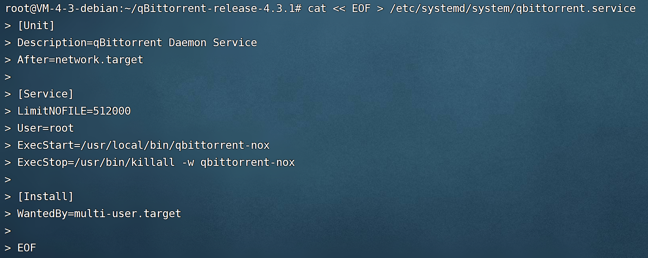 qcloud-Lighthouse-qBittorrent-systemd